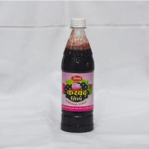 Karvand Syrup ( करवंद सिरप )