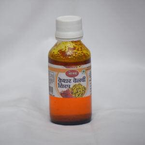 Keshar Velachi Syrup ( केशर वेलची सिरप )